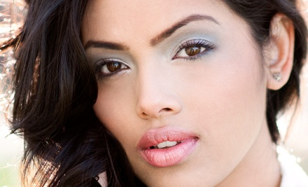 Two or Four Eyebrow-Threading Sessions with Optional Lip Threading at Shear Designs Salon (Up to 65% Off)