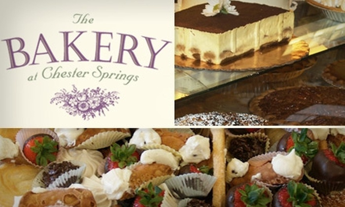 The Bakery At Chester Springs - West Vincent: $12 for $25 Worth of Cakes, Pies, and Pastries from The Bakery at Chester Springs