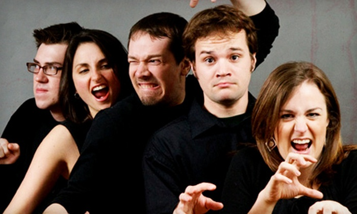 Monkey Business Institute - Schenk-Atwood,Near East Side,Tonyawatha: Tickets for Two or Four People to an Improv Show by Monkey Business Institute. Eight Options Available.