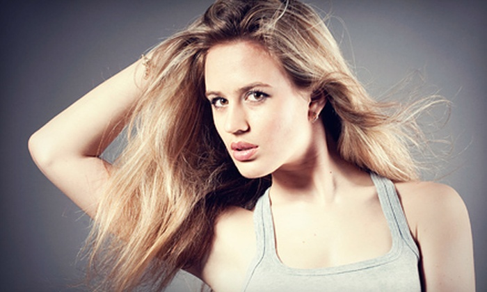Siojo Salon - Center City East: Haircut and Protein-Treatment Package with Optional Single-Process Color or Highlights at Siojo Salon (Up to 67% Off)