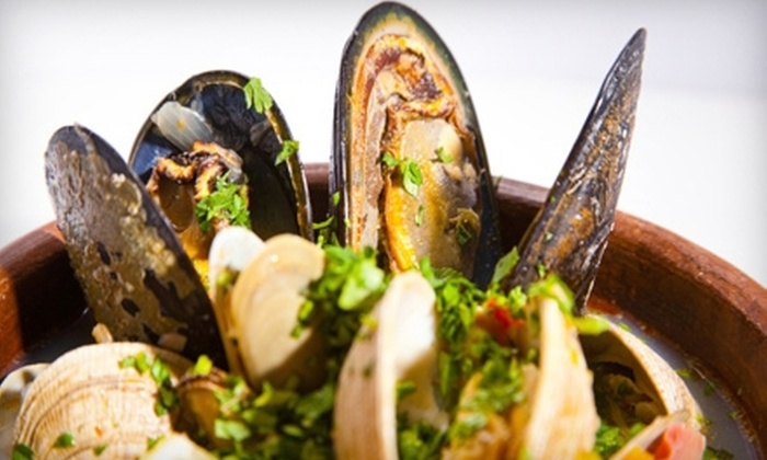 Cioppino Restaurant and Cigar Bar - Strip District: $15 for $30 Worth of Steak, Seafood and Small Plates at Cioppino Restaurant and Cigar Bar