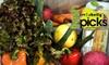 Fresh Picks (freshpicks.com): $15 for Farm-Fresh Vegetable Home Delivery from Irv & Shelly's Fresh Picks ($31 Value)