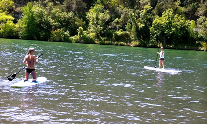Steiner Ranch SUP - Sleepy Hollow: One- or Two-Hour Stand-Up Paddleboard Rental for One or Two from Steiner Ranch SUP