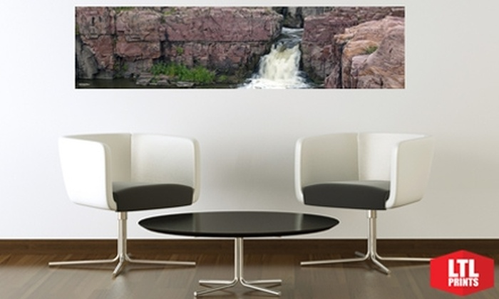 Larger Than Life Prints - Sioux Falls: $35 for a Panoramic Wall Mural from Larger Than Life Prints