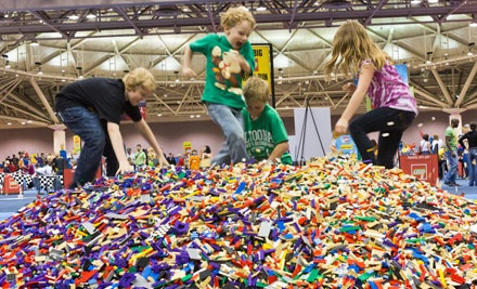 LEGO KidsFest at Raleigh Convention Center on Fri., Oct. 7 at 4:00PM: General Admission - LEGO KidsFest in Raleigh