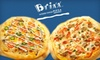 Brixx Wood Fired Pizza - Charlotte Locations - Hendersonville: $10 for $20 Worth of Gourmet Pizza and Casual Fare at Brixx Wood Fired Pizza