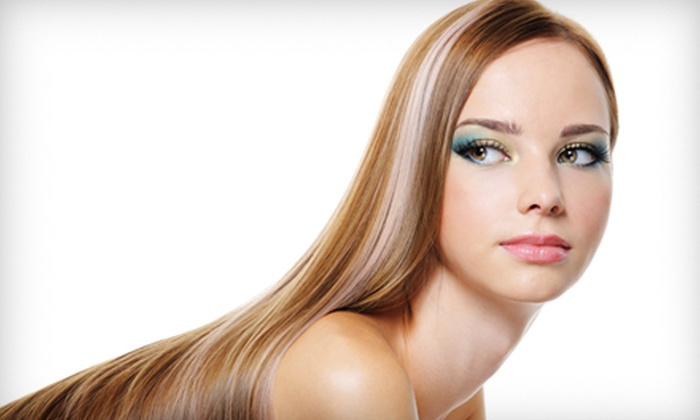 Studio 1 Salon - Canton: $69 for a Color Package with a Haircut, Blowout, and Moroccanoil Treatment at Studio 1 Salon in Canton ($210 Value)