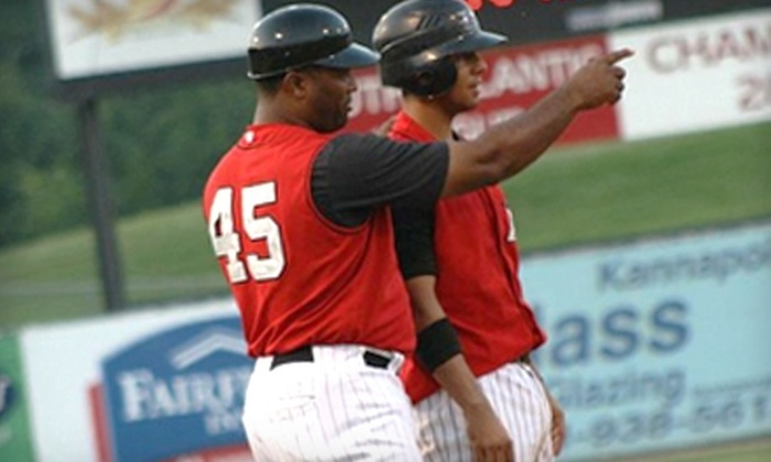 Kannapolis Intimidators - Charlotte: $8 for Two Tickets to a Kannapolis Intimidators Game ($16 Value). Three Dates Available.