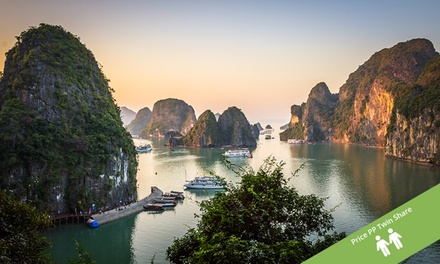 Vietnam: $749 Per Person for an 11Day NorthtoSouth Tour with Domestic Flight and Cruise with Halong Tours Booking