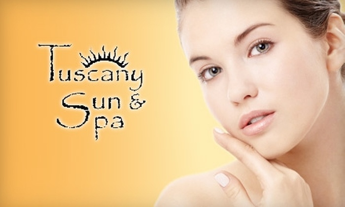 Tuscany Sun and Spa - Kennett: $99 for a MegaPeel Treatment at Tuscany Sun and Spa ($210 value)