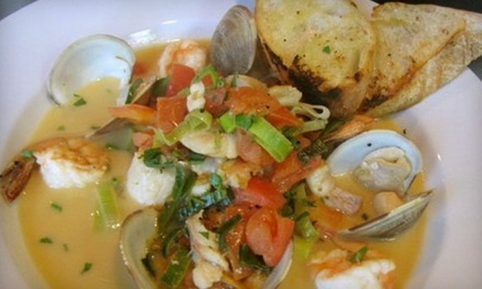 Bistro 536 - Mount Pleasant: $15 for $30 Worth of Dinner or $6 for $12 Worth of Lunch at Bistro 536 in Mount Pleasant