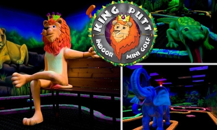 King Putt LLC - Summerlin: $15 for Four Rounds of Mini-Golf at King Putt ($34 Value)