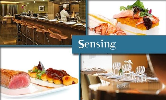 Sensing Restaurant - Boston: $20 for $50 Worth of Contemporary French Cuisine at Sensing Restaurant