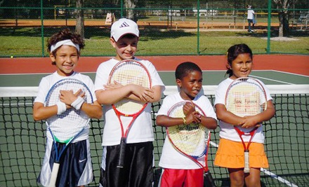 Eight 60- to 90-Minute Afterschool Tennis Classes (a $120 value) - Jane Forman Tennis Academy in Miami