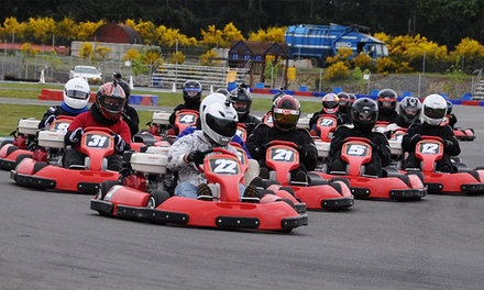 Go-Kart Racing Package at PGP Motorsports Park (Up to 50% Off)