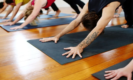 Ten Evening and Weekend Yoga Classes or One Month of Unlimited Classes at Ashtanga Yoga Room (Up to 68% Off)
