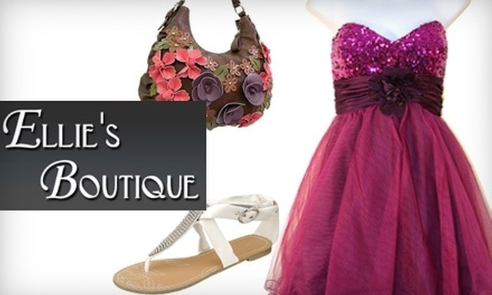 Ellie's Boutique - Spring Valley: $25 for $60 Worth of Apparel, Accessories, Handbags, and More at Ellie's Boutique