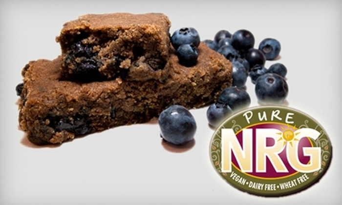 Pure NRG: $10 for $20 Worth of Vegan Snacks, Dairy-Free Treats, and More at Pure NRG