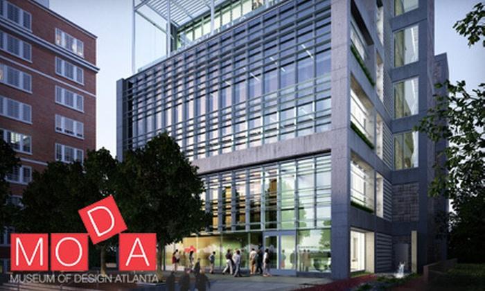 Museum of Design Atlanta - MODA: Museum of Design Atlanta: Museum of Design Atlanta Visit for Two or Four (Up to 63% Off)