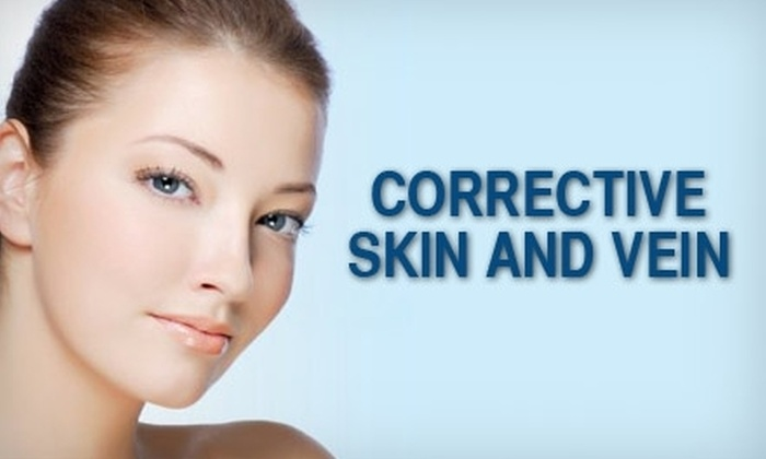 Corrective Skin & Vein Center - Central Oklahoma City: $49 for Three Enzyme Peels at Corrective Skin and Vein Center ($195 Value)