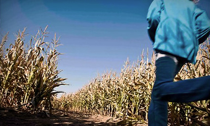 Beck's Harvest House - Green Bluff: $8 for a Corn-Maze Outing for Two at Beck's Harvest House in Colbert ($16 Value)