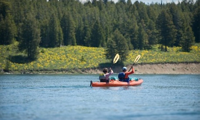 O.A.R.S. - Yellowstone National Park: $49 for a Half-Day Kayak Trip on Yellowstone Lake in Yellowstone National Park from O.A.R.S. (Up to $99 Value)
