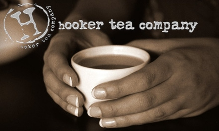 The Hooker Tea Company - Downtown St. Petersburg: $10 for $20 Worth of Specialty Teas, Café Fare, and Accessories at The Hooker Tea Company