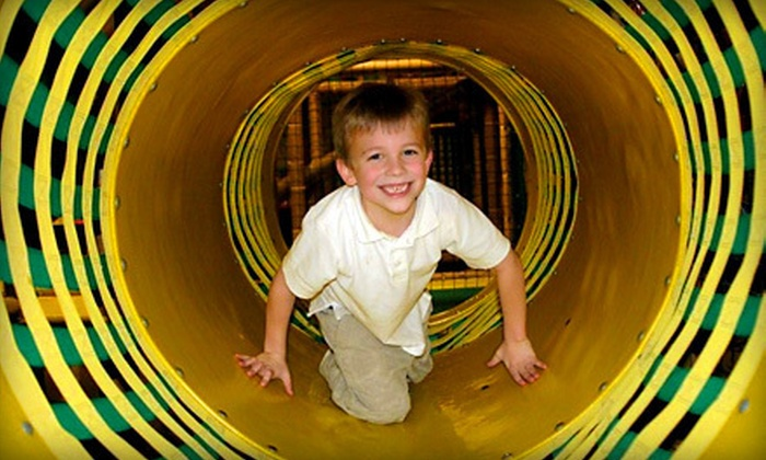 Jungle Java - Multiple Locations: $17 for Five All-Day Outings at Jungle Java (Up to $37.50 Value)