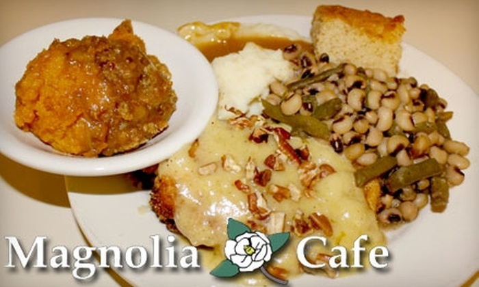 Magnolia Café - Overton: $7 for $15 Worth of Traditional Southern Lunch Fare at Magnolia Café