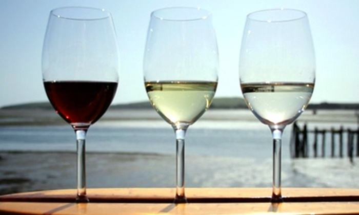 Gourmet au Bay - Castroville: $16 for Wine Surfing for Two with a Cheese Plate at Gourmet au Bay in Bodega Bay