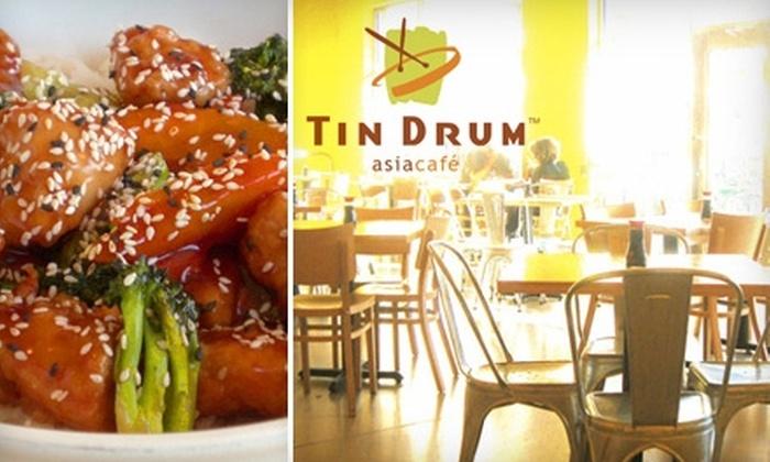 Tin Drum Asia Café - Multiple Locations: $12 for $25 Worth of Asian Fare at Tin Drum Asia Café