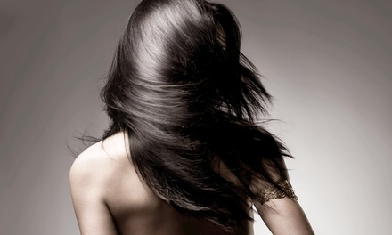 Haircut Packages or Straightening Treatment from Irina Arce at Hair Designers (Up to 59% Off)