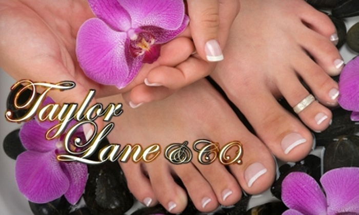 Taylor Lane & Co. Day Spa - Deerwood: $30 for a Manicure and Signature Pedicure with Reflexology Massage at Taylor Lane & Co. Day Spa ($63 Value)