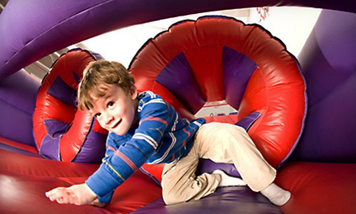 Bounce U - Apex: One Year of Unlimited Bounce Sessions or $50 for $150 Worth of Open-Bounce Sessions at BounceU in Apex (Up to 66% Off)