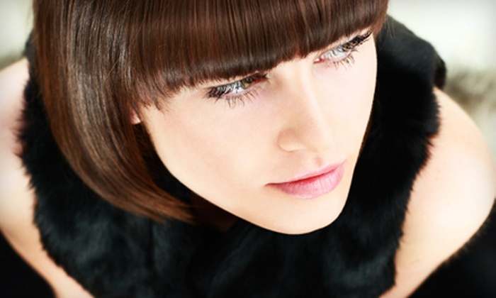 Abby at Shades Salon Studio - Canton: Haircut and Style from Abby at Shades Salon Studio (Up to 51% Off)