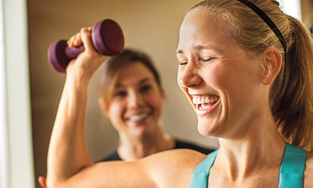 1-Month Gym Membership or 3-Month Membership Including Personal Training at Anytime Fitness (Up to 84% Off)
