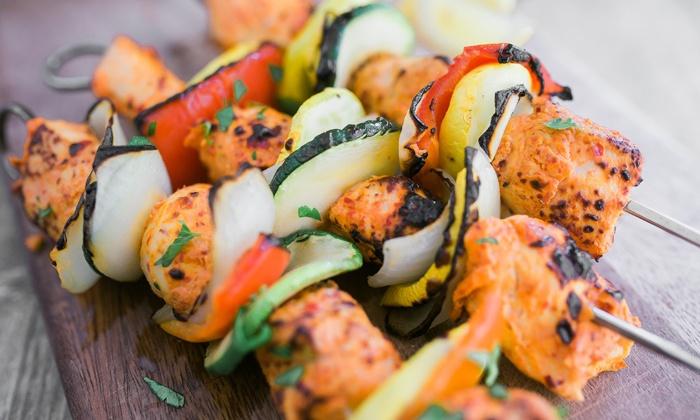 Pita Pita - Multiple Locations: Kabob Meal for Two or $14 for $20 Worth of Mediterranean Food at Pita Pita