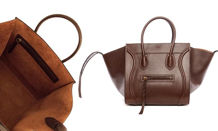 celine black bag - Celine Phantom Handbags | Groupon