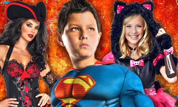 Halloween Adventure: $20 for $40 Towards Men's, Women's, and Kids' Halloween Costumes at Halloween Adventure