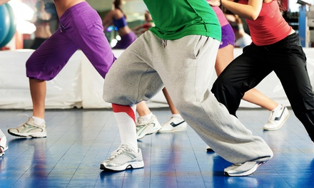10 or 20 Drop-In Zumba or Zumba Toning from Dance Fitness with Lizy (Up to 54% Off)