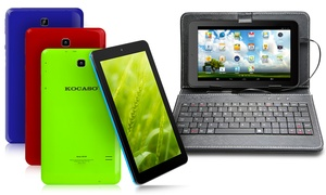 "Kocaso 8GB 7"" Tablet with Android 4.4 OS, Quad Core, and Keyboard Case: Kocaso 8GB 7"" Tablet with Android 4.4 OS, Quad Core, and Keyboard Case"