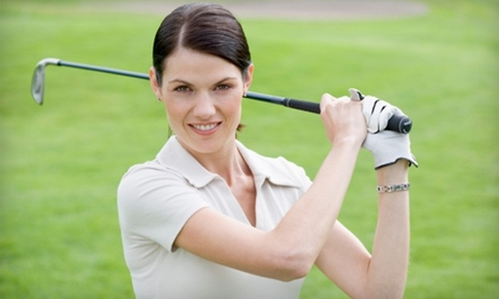 Fox Ridge Golf Club - Newton: $17 for 18 Holes of Golf, a Cart, and One Large Bucket of Range Balls at Fox Ridge Golf Club in Newton (Up to $32 Value)