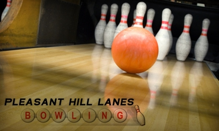 Pleasant Hill Lanes - Wilmington-Newark: : $5 for Two Games of Open Bowling and Shoes at Pleasant Hill Lanes (Up to an $11 value)
