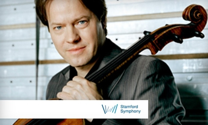 Stamford Symphony - Downtown: $32 for One Orchestra or Mezzanine Ticket at the Stamford Symphony ($65 Value). Choose Between Two Dates.