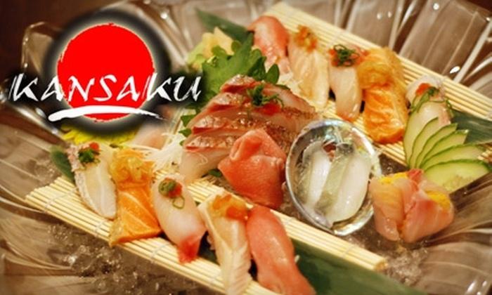 KANSAKU - Evanston: $15 for $35 Worth of Sushi and Drinks at Kansaku in Evanston