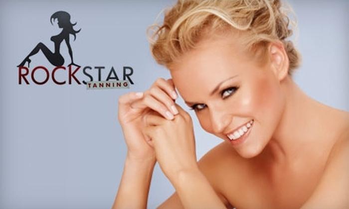 Rock Star Tanning - McAllen: $17 for a Spray Tan at Rock Star Tanning ($35 Value)