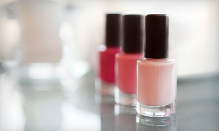 Remedy Salon - Clackamas: $35 for a Shellac Manicure and a Spa Pedicure at Remedy Salon in Clackamas ($75 Value)
