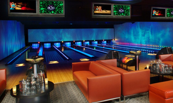 300 Anaheim - Disneyland: $25 for $50 Worth of Upscale Bowling and Shoe Rentals at 300 Anaheim in Anaheim