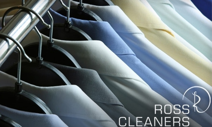 Ross Cleaners - Multiple Locations: $15 for $30 Worth of Dry-Cleaning and Laundry Services at Ross Cleaners