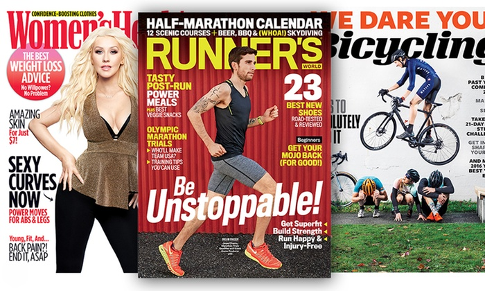 Health and Lifestyle Magazines: 12-Issue Subscription to Health and Lifestyle Magazines (Up to 59% Off). Four Options Available.